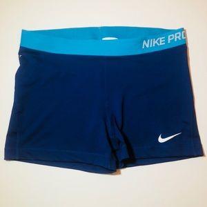 NIKE PRO Dri-Fit shorts blue XL
